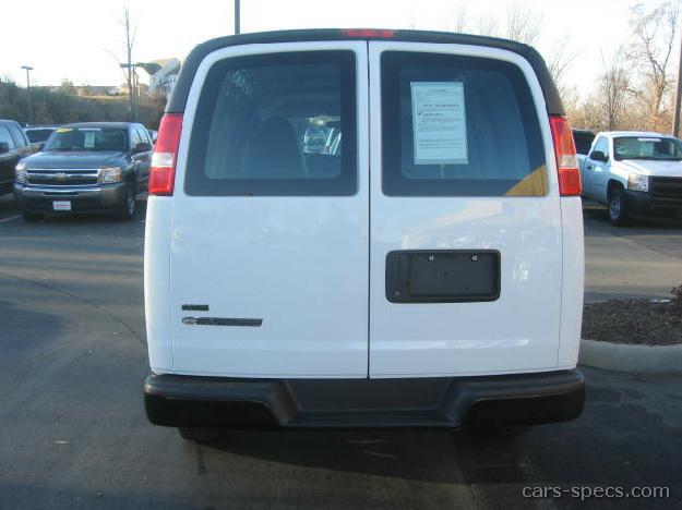 2009 chevrolet express cargo van specifications pictures prices. Black Bedroom Furniture Sets. Home Design Ideas
