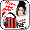 New Year 2019 DJ remix icon