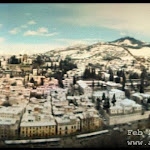 Snow over Alhambra & Granada