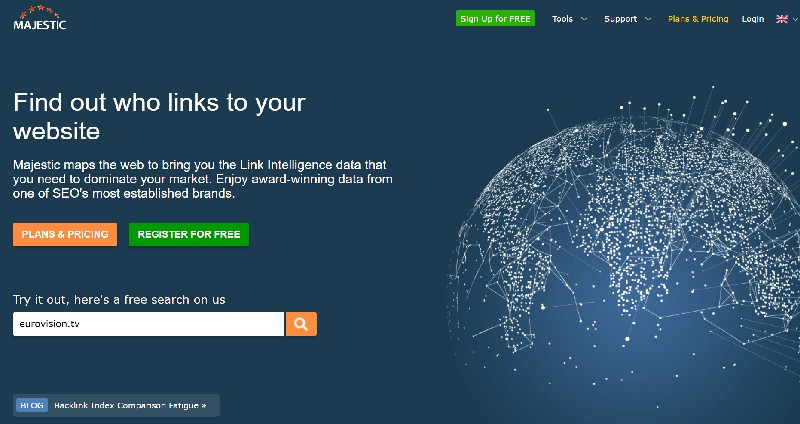 10 Best Keyword research tools-7.majestic
