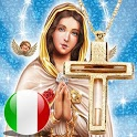 Holy Rosary audio in Italian with offline icon