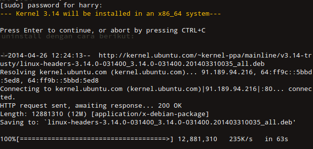 download kernel