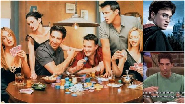 Friends: Referências que os personagens de Friends fizeram a Harry Potter