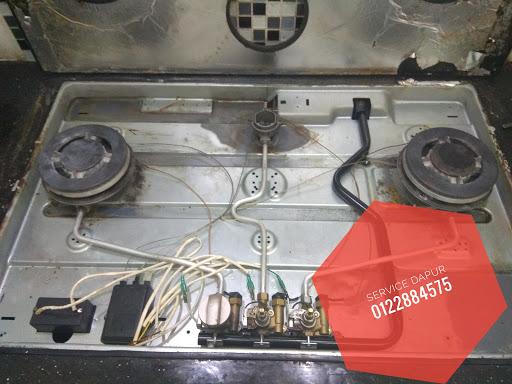 Baiki Dapur Gas Rumah Kerana Sensor Dia Problem