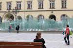 The fountain in Wroclaw market square