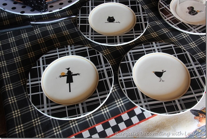 Halloween Luncheon Butter Plates