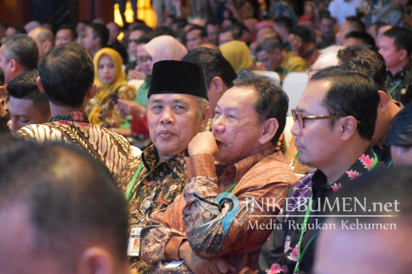 Dibuka Presiden Jokowi, Bupati Yazid Mahfudz Hadiri Rakornas Investasi 2020