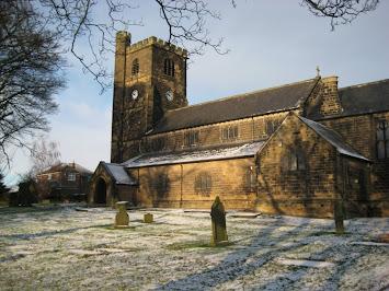 St Michael's in winter