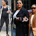 Lobatan: Queen Latifah's longtime girlfriend Eboni Nichols Flaunts baby bump as she confirms they are expecting their first child (Photos)