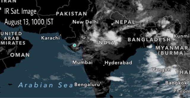 August 13, 2016: Weather Forecast Update: Deluge In Northwest Madhya