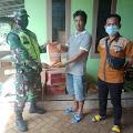 Jalin Sinergitas Bersama Warga, Jajaran Koramil 0711/Cibadak Lakukan Karya Bhakti Di Wilayah Binaan