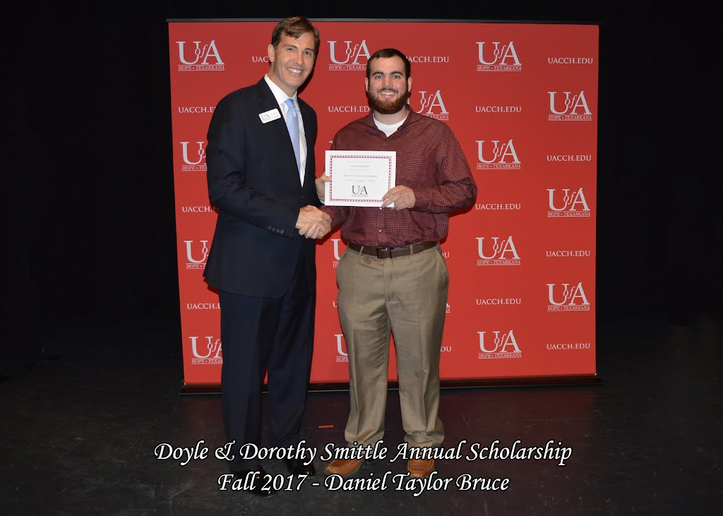 Fall 2017 Foundation Scholarship Ceremony - Doyle%2B%2526%2BDorothy%2BSmittle%2BAnnual%2B-Daniel%2BTaylor%2BBruce.jpg