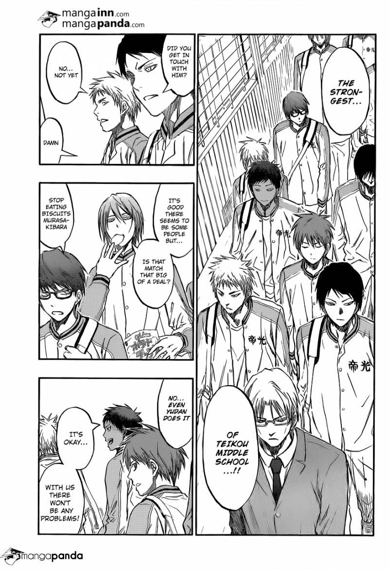 Kuroko no Basket Manga Chapter 208 - Image 03