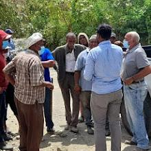 VICENTE NOBLE: Piden al INDRHI agilizar cubicación para terminar obra canalización desembocadura Arroyo Buringa está en un 60%.