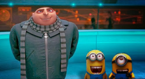 Screen Shot Of Hollywood Movie Despicable Me 2 (2013) In Hindi English Full Movie Free Download And Watch Online at Alldownloads4u.Com