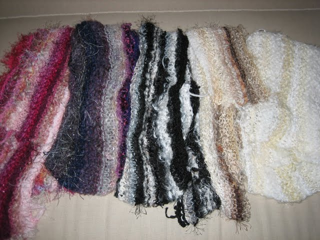 Scarves by Denise Martin