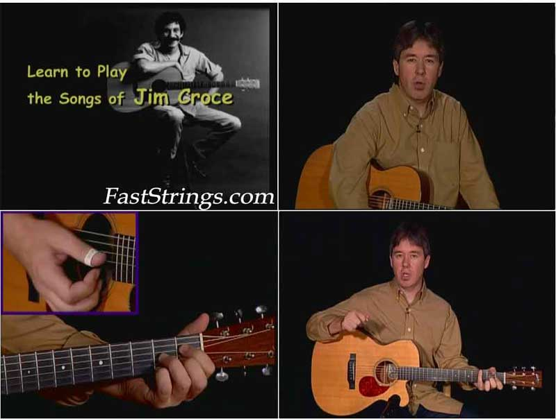 Peter Huttlinger - Learn to Play the Songs of Jim Croce