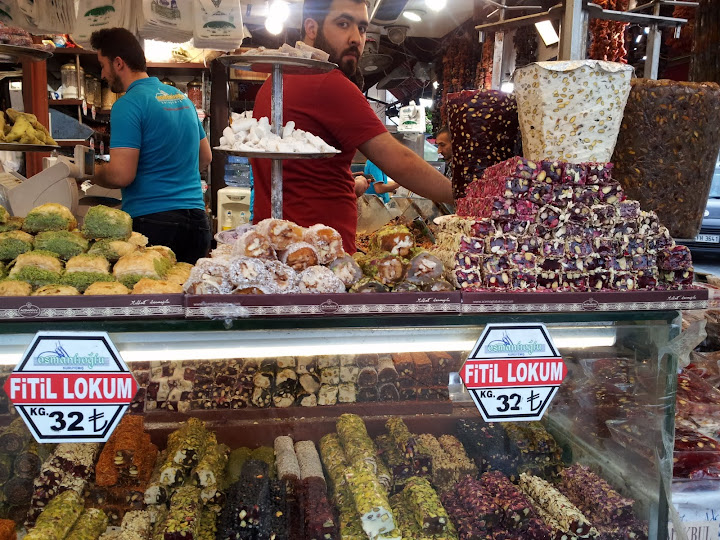Turkish delight in Istanbul.