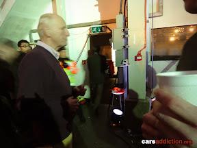 Richard Hammond busy on set