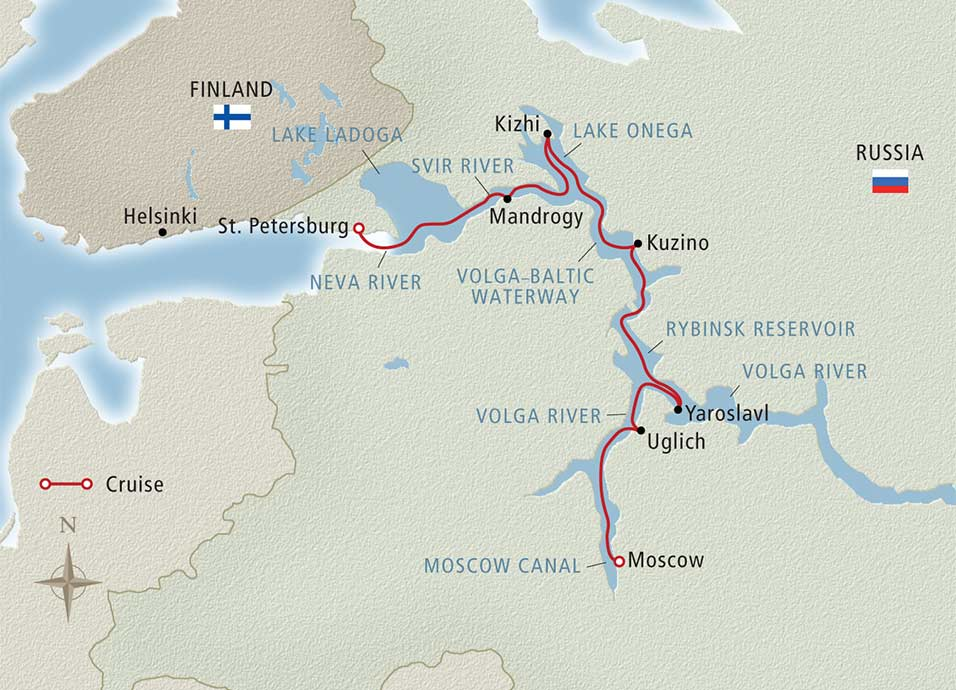 MAP WaterwaysTsars