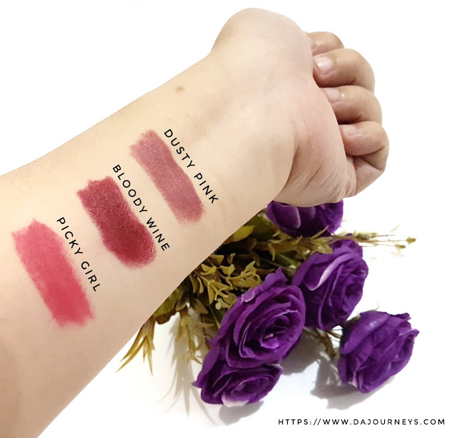 Review Romand Crazy Payoff Matte Lipsticks
