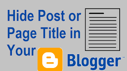 How to Hide Blogger Image from Post Page but not from Main Page - Chinaitechghana