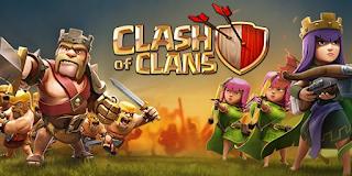 Game Perang  Android Terbaik Clash of clans