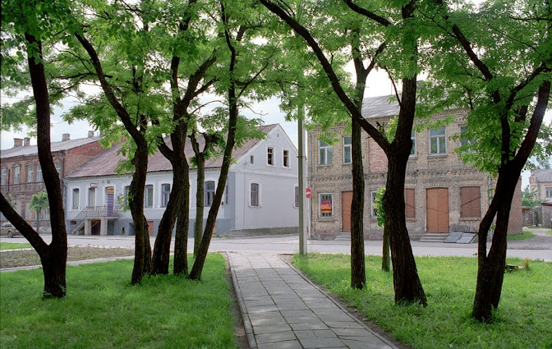 9. Zagare Square. Place where in 1941 all Jews of Zagare were killed by Lithuanian nationalists. Zagare is a small town close to Latvian border