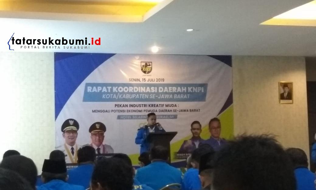 Sukabumi Tuan Rumah Menggali Potensi Ekonomi Rakorda KNPI Jabar