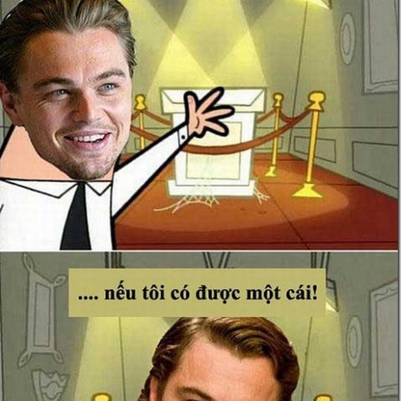 """Ảnh chế hài hước nhất về Leonardo DiCaprio sau 5 lần """"rớt"""" Oscar"""