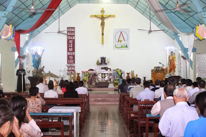 Hình ảnh Giáo xứ Gò Muồng chào đón Cha tân Phó xứ Giuse Nguyễn Tiến Dũng
