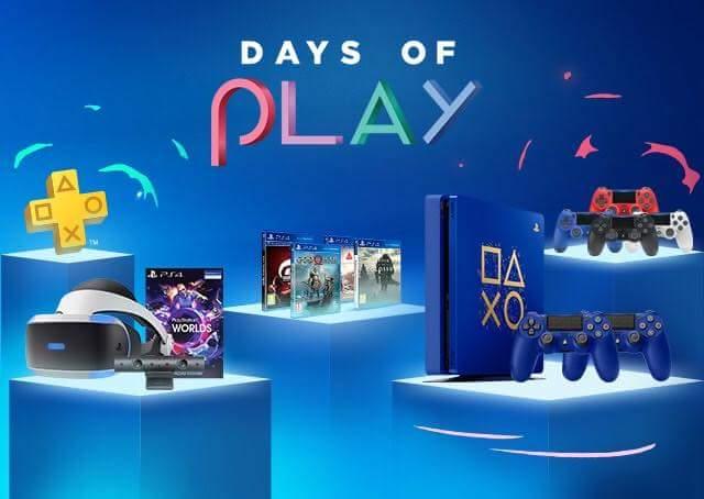 L'OFFERTA DAYS OF PLAY INIZIA L'8 GIUGNO 2018.