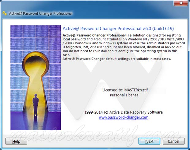 Active Password Changer Professional 6