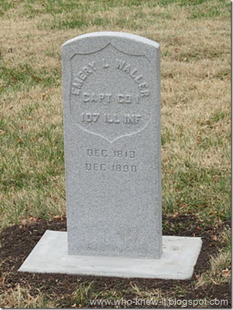 Emery Waller gravestone