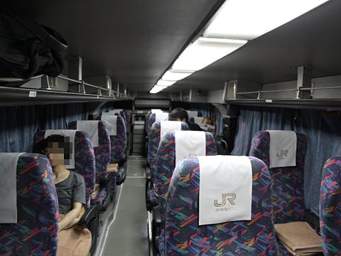 JR東海バス「オリーブ松山号」 744-01991 車内