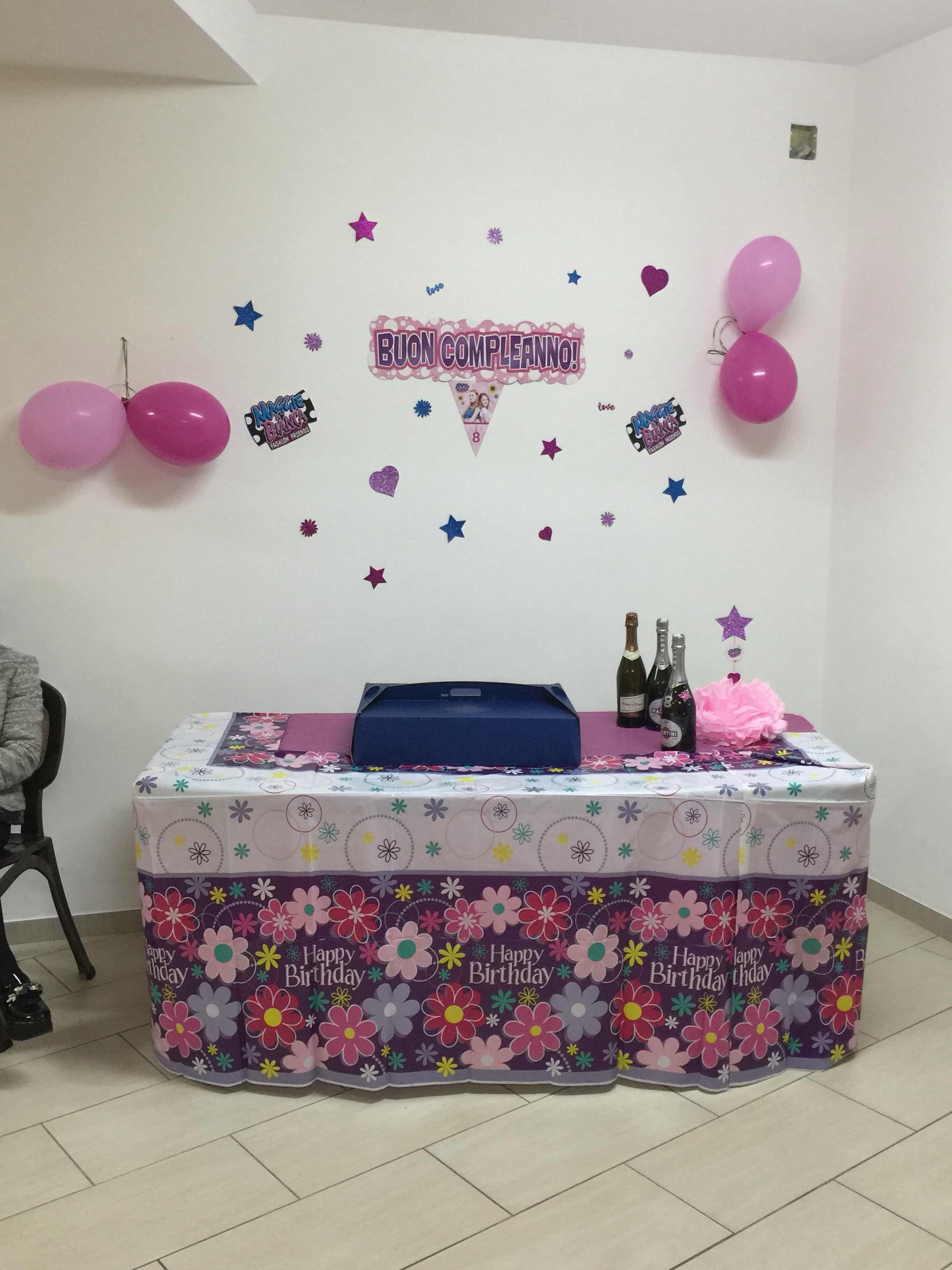 Palmaluda In Wonderland Festa Di Compleanno A Tema Maggie E Bianca
