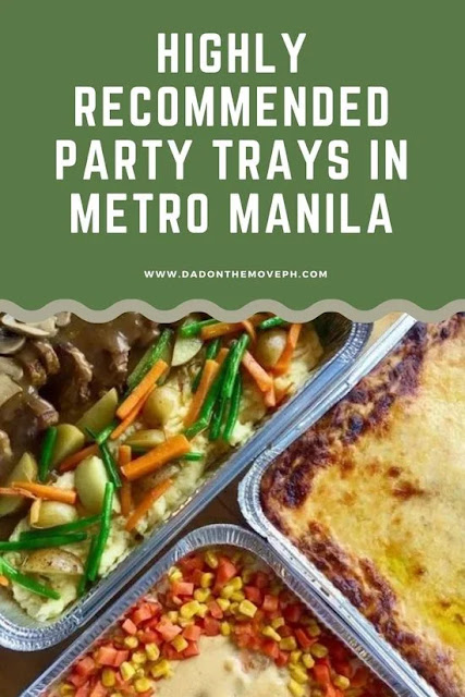 Food and party tray suppliers in Metro Manila