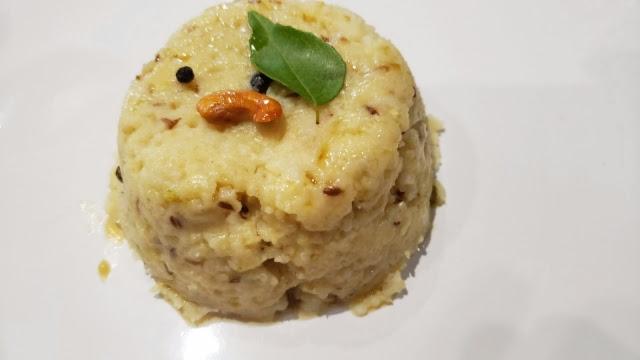 Instant Pot Ven Pongal | Spicy Pongal | One pot Pongal recipe