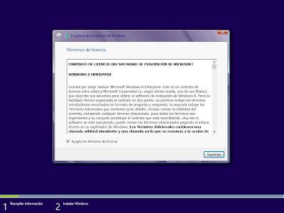 Instalar Microsoft Windows 8