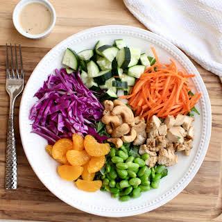 Asian Miso Chicken Salad.