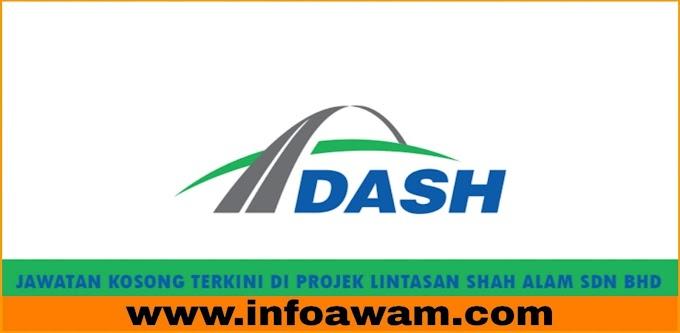 Jawatan Kosong Terkini Di Projek Lintasan Shah Alam Sdn Bhd