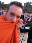 Keeping warm in orange