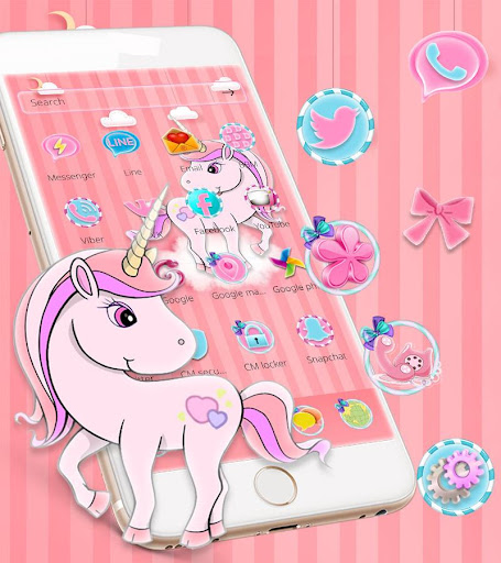 My Little Unicorn Theme App Report On Mobile Action App
