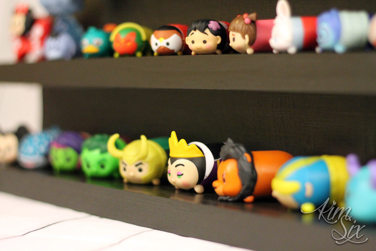 Shelf to display tsum tsums