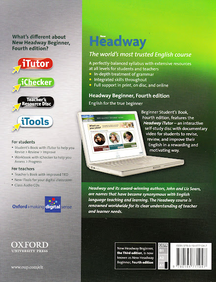 Oxford new headway beginner fourth edition students book w itutor payments fandeluxe Image collections