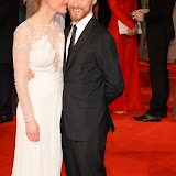 OIC - ENTSIMAGES.COM - Anne-Marie Duff  and James McAvoy  at the EE British Academy Film Awards (BAFTAS) in London 8th February 2015 Photo Mobis Photos/OIC 0203 174 1069