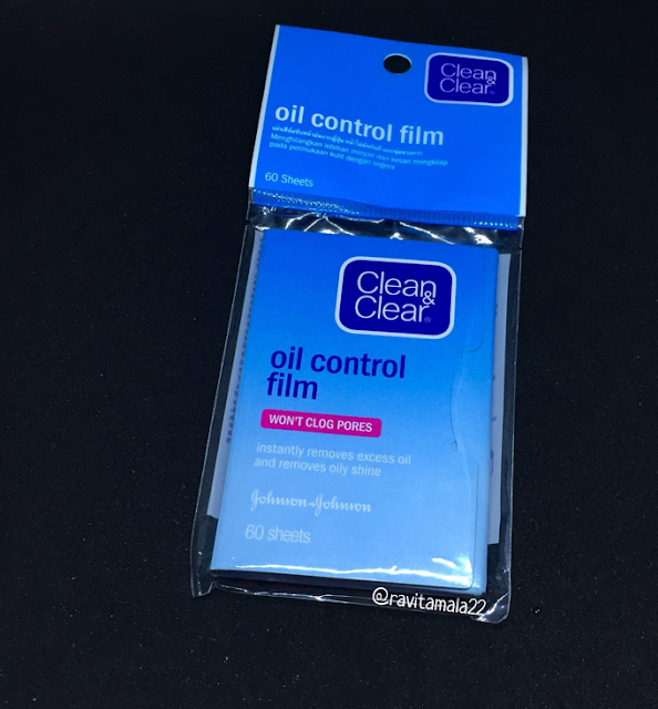 Clear & Clear oil control film