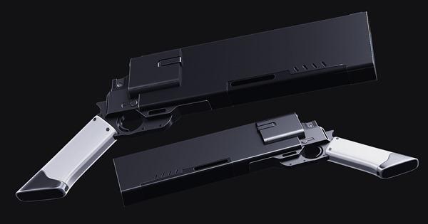 gun model using cuber
