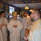 Освећење параклиса посвећеног св. Исаији