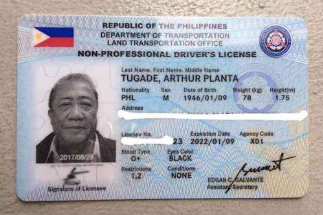 Only Application Tugade's And Driver's Clarification Pilipinas License Wazzup ~ Events For News Sec Demonstratio